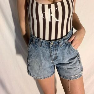 Vintage riveted by lee high waisted shorts